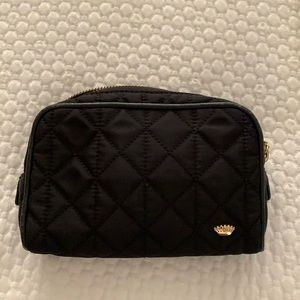 Juicy Couture black quilted small make-up bag